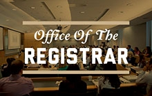 Graphical link to the Registrar's website