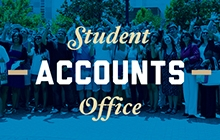 Graphical link to the Student Accounts Office