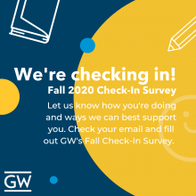 Fall 2020 Check-In Survey