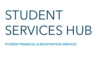 Local brand graphic for Student Services Hub